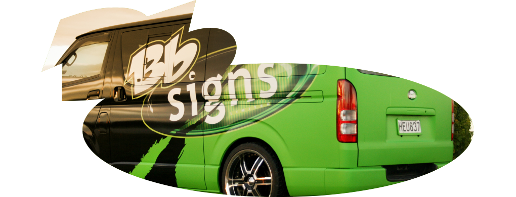 BB Signs Van Wrap
